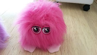 PINK Fluffling TOY - Giggles & makes noises, moves too. Battery operated pet