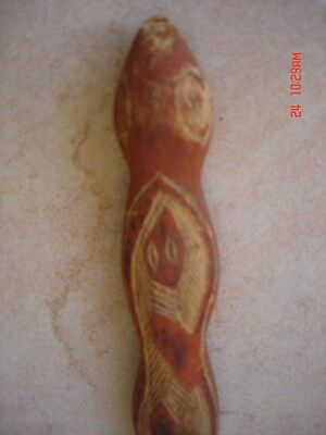 aboriginal arnhem land snake carving