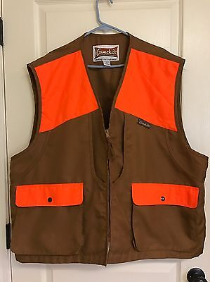 Gamehide Upland Hunting Vest 3x 3xl Bird Gear Blazer Orange Game Pocket GUC