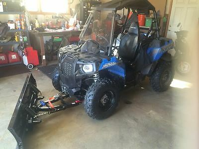 2015 Polaris Ace 570,only 104 Miles,with Factory Plow