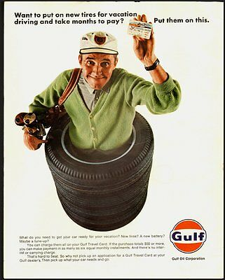 1966 Vintage ad for Gulf Oil Corporation  (031112)