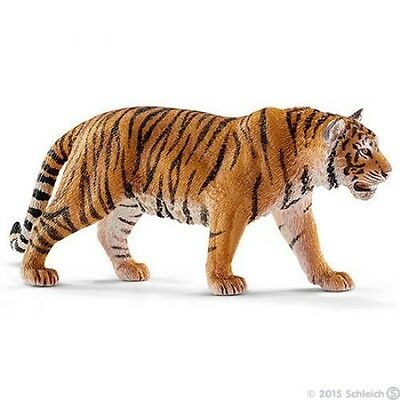 Schleich Standing Tiger Toy Figure New with tag Item 14729, Possible Free Ship