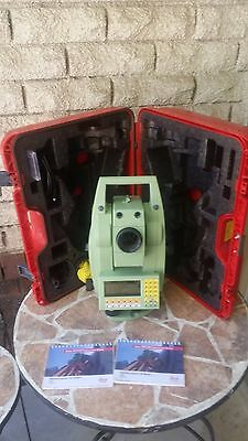 LEICA TCRA 1103 Plus Reflectorless Robotic Total Station with LaserPointer