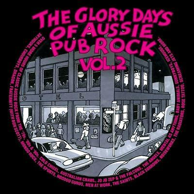 Glory Days Of Aussie Pub Rock Vol 2 Various Artists 4 Cd New