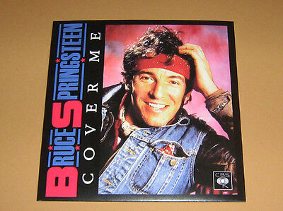 BRUCE SPRINGSTEEN - RARE 45 ** COVER ME ** With Diff.Fan Sleeve