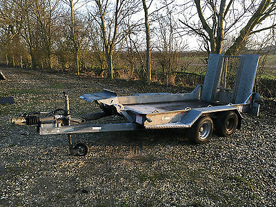 Ifor Williams G94 Plant Trailer with ramp and ball hitch