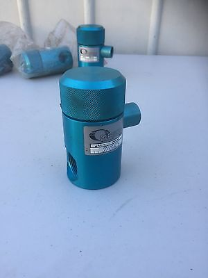 Filter For Fuel, Oil and Hydraulic Fluid Aluminium Anodised Blue