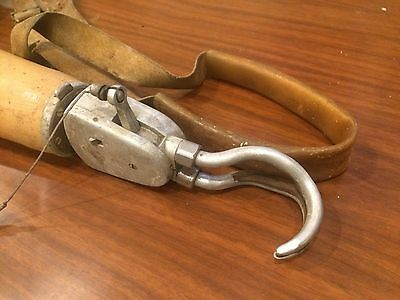 Vintage 1940's Steam Punk Artificial Limb Hook Hand Arm Prosthetic Otto Bionic
