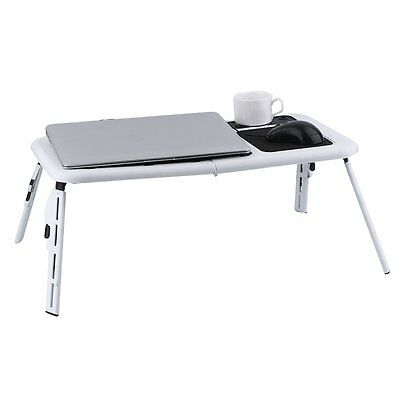 2017 Portable Folding Laptop Computer Notebook Table Bed Desk Bed Tray Stand UK
