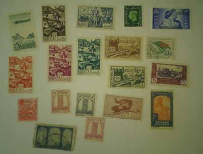 North Africa used stamps