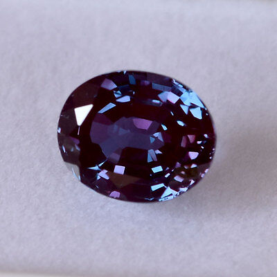 100% Genuine - Color Change Created Czochralski Pulled Alexandrite