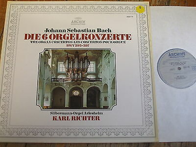 2533 170 Bach The Organ Concertos BWV 592-597 / Richter
