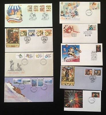 Small Collection Of First Day Covers Lot01