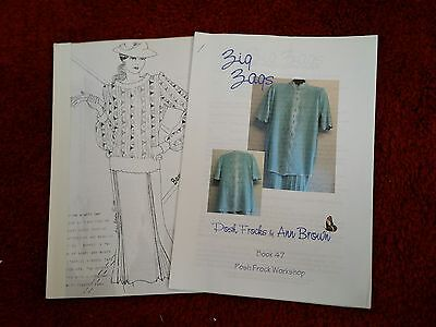 2 Posh Frock machine patts. please see description and photos
