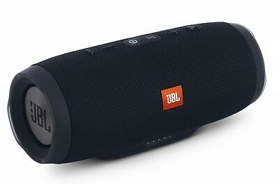 Waterproof Portable Bluetooth Speaker support Micro-SD for JBL Charge 3 (Black)