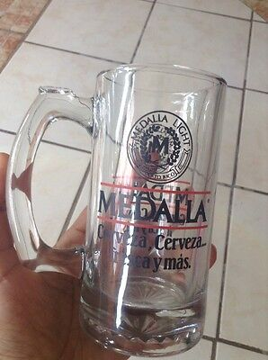 Puerto Rico Cerveza Medalla Light  Beer Mug Extremely Rare Hard To Find!