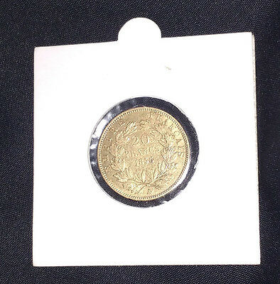 20 Francs French Gold Coin Napoleon III 1856