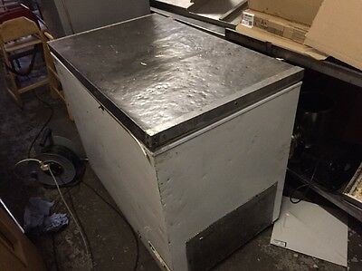 Commercial Chest freezer With Stainless Steel Top