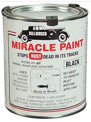 "Bill Hirsch Automotive ""Miracle"" Black Rust Proof Paint Chassis Suspension Body"