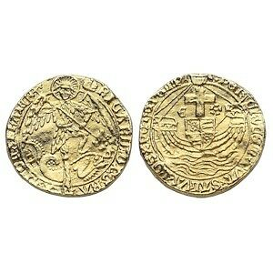 Richard 3 Gold Angel Repro Coin
