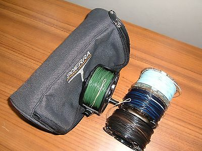 scierra trout fly reel 3 spools and lines