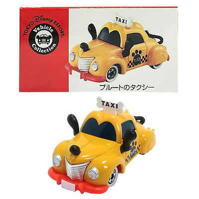 Tomy Tomica Tokyo Disney Resort Vehicle Collection Pluto Taxi Tokyo Disneyland