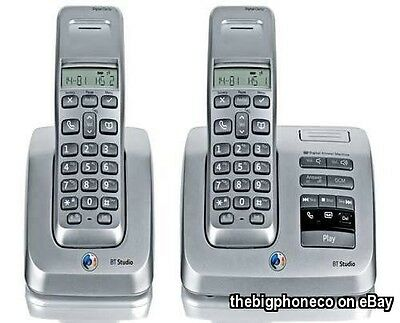 BT Studio 3500 Twin Cordless Phone With Answer Machine