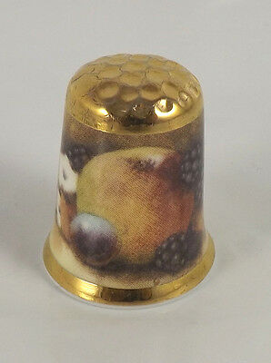 Christopher Hughes Collection Thimble - Fruit - New Old Stock
