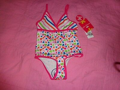 Pink Platinum Toddler Girls One Piece Swimsuit Size 2T  Nwt!!
