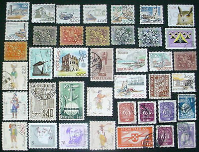 Portugal: Collection Of 40 Used Stamps:  Lot 5