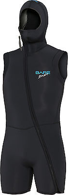BARE - 7 mm S-Flex Step-In Hooded Vest - Eisweste - Männer