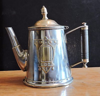 White Metal Teapot