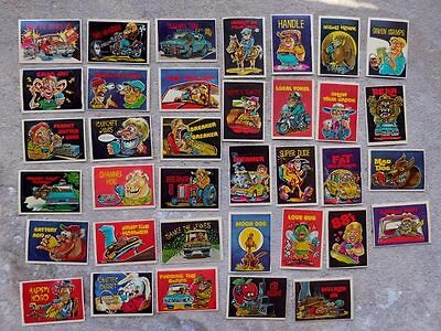 CB Radio Comic Cards Stickers By Donruss 36 Different 1970s