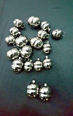 Pair of Falconry Lahore Bells Silver Bells Chromed (All Sizes) Great Sound.