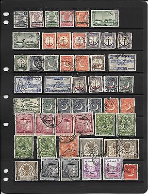 Selection Of Postage Stamps From Pakistan