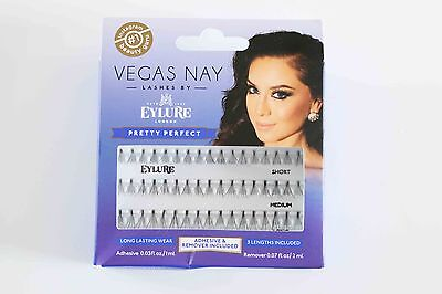 Vagas Nay by EYLURE pretty perfect individual eye lashes in short medium & long