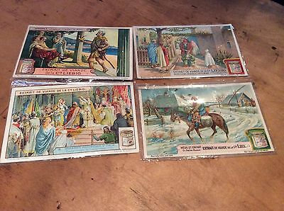 OXO LIEBIG CARDS x4 Mint Condition