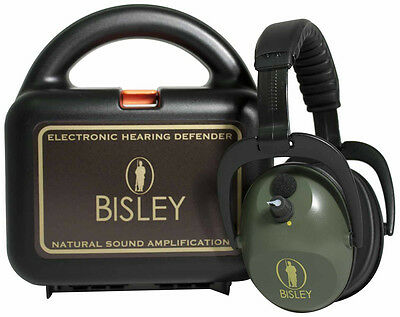 Active Electronic Hearing Protection Bisley Slimline Hunting Clay Shooting Field