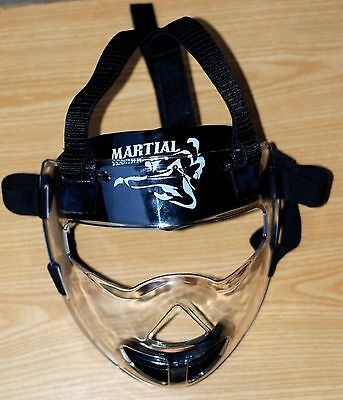 Martial Technic Adjustable Face Mask Head Guards Grill For Martial Arts Boxing