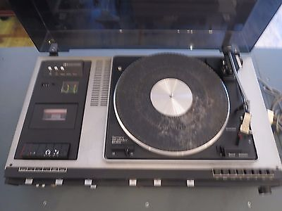 Garrard MK 5 Record Turntable Player with Tape Recorder and Tuner