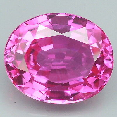 Fascinating!!! 6.6ct. Pink Topaz Oval