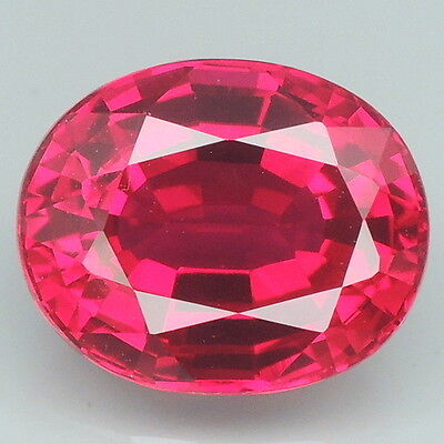 Attractive!!! 5.3ct. Red Topaz Oval