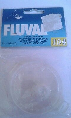 Fluval 104/105 Impeller Cover A20116 A20136 Flat Blade External Filter