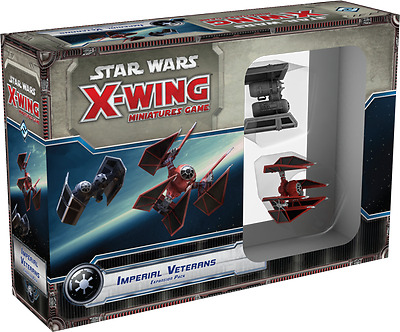 Star Wars X-Wing Miniatures Game - Imperial Veterans No Box