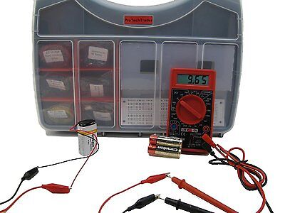 Make Electronics 2nd Edition Components Pack 1, 2, or 3- Learn Beginner STEM Kit