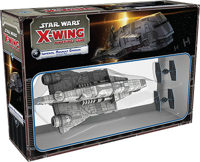 Star Wars X-Wing Miniatures Game - Assault Carrier - No Box