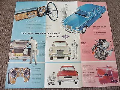 New Riley 4/Sixty Eight, Original Brochure / Poster, Excellent Condition