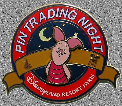 DISNEY Pin LE 400 DLP - Piglet (Winnie the Pooh) - Pin Trading Night Pin Paris