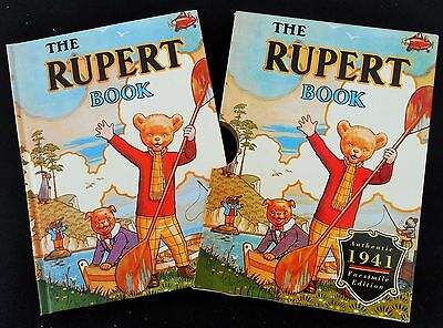 1941 Rupert Bear Limited Edition Facsimilie Annual With Protective Slip Cover