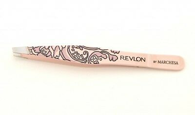 REVLON by Marchesa slant tip tweezer - full size tweezers in choice of 3 colours
